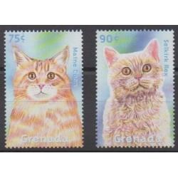 Grenade - 2000 - Nb 3822/3823 - Cats