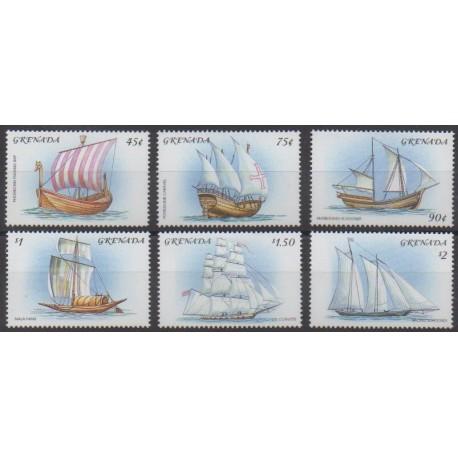 Grenade - 2001 - Nb 3917/3922 - Boats
