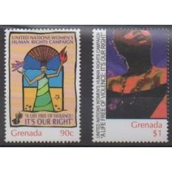 Grenade - 2001 - Nb 3926/3927 - United Nations - Human Rights