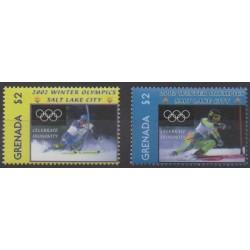 Grenade - 2002 - Nb 4171/4172 - Winter Olympics