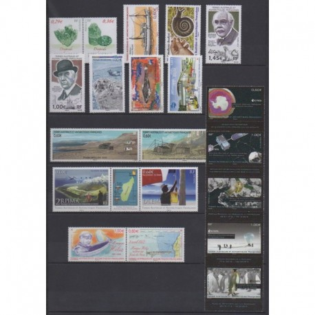 French Southern Territories - Complete year - 2012 - Nb 602/640