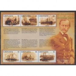 Grenade - 2002 - Nb 4128/4133 - Military history - Boats