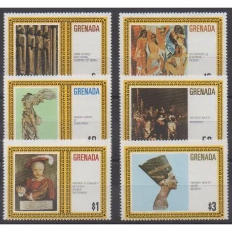 Grenade - 1980 - Nb 925/930 - Paintings