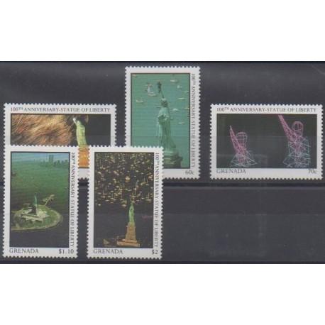 Grenade - 1987 - Nb 1509/1513 - Monuments