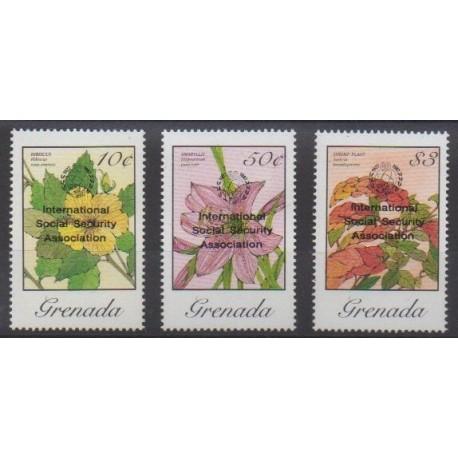 Grenade - 1987 - Nb 1518/1520 - Flowers