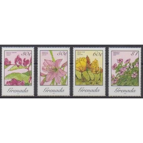 Grenade - 1988 - Nb 1534/1537 - Flowers