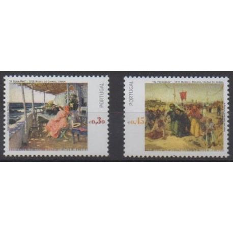 Portugal - 2005 - Nb 2872/2873 - Paintings