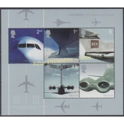 Great Britain - 2002 - Nb BF 16 - Planes