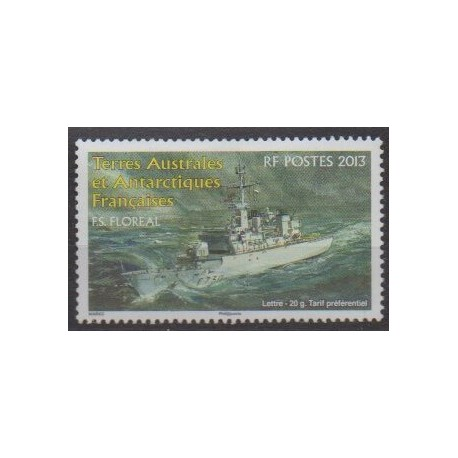 French Southern and Antarctic Territories - Post - 2013 - Nb 660 - Boats