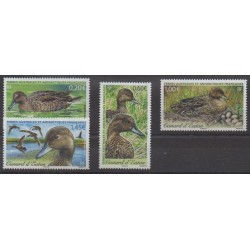 French Southern and Antarctic Territories - Post - 2013 - Nb 649/652 - Birds