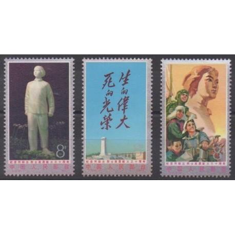China - 1977 - Nb 2058/2060 - Mint hinged