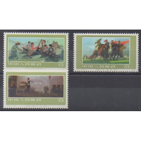 China - 1977 - Nb 2063/2065 - Mint hinged