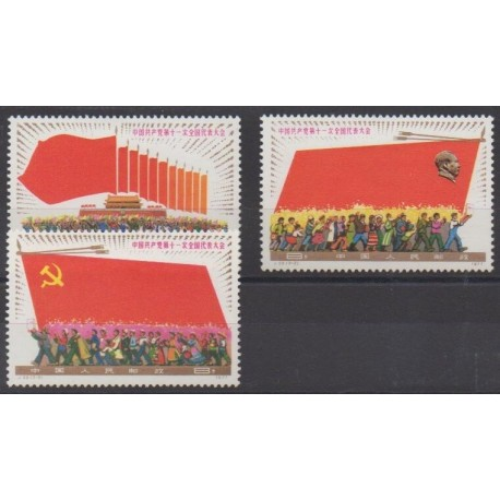 China - 1977 - Nb 2098/2100 - Mint hinged