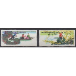 China - 1978 - Nb 2122/2123 - Mint hinged