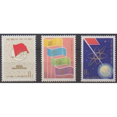 China - 1978 - Nb 2132/2134 - Science - Mint hinged