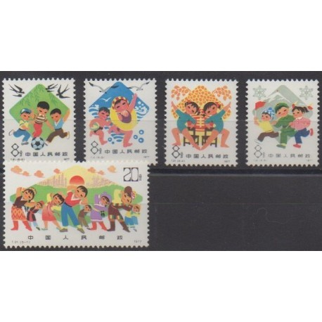 China - 1978 - Nb 2150/2154 - Various sports - Mint hinged