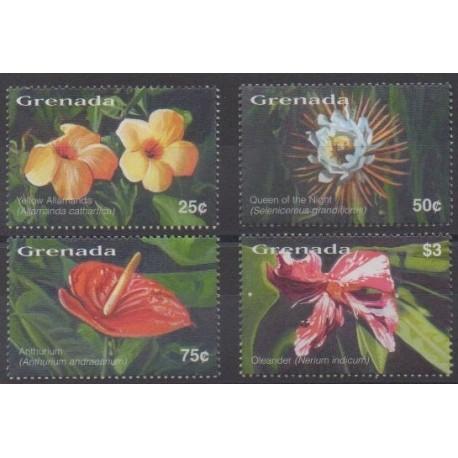 Grenade - 2003 - Nb 4451/4454 - Flowers
