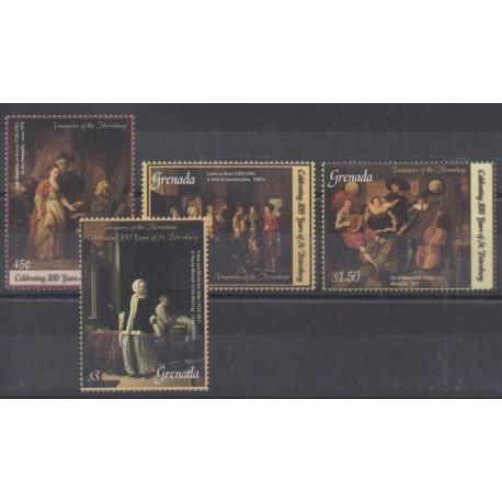 Grenade - 2003 - Nb 4490A/4490D - Paintings