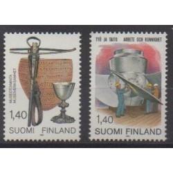 Finlande - 1984 - No 906/907
