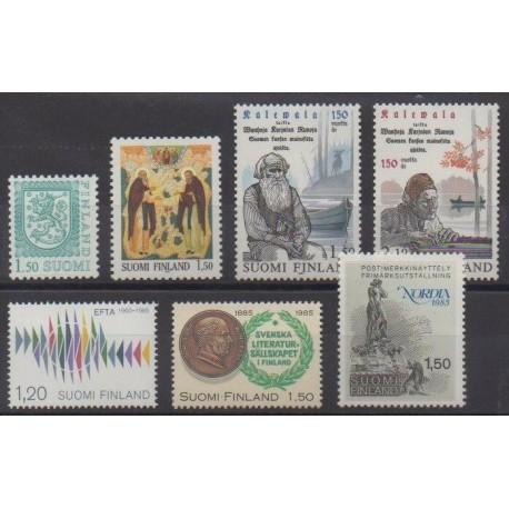 Finland - 1985 - Nb 917/923