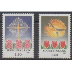Finlande - 1985 - No 943/944 - Noël