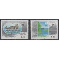 Finlande - 1986 - No 949/950 - Environnement - Europa