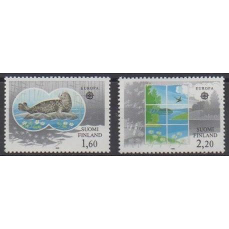 Finland - 1986 - Nb 949/950 - Environment - Europa