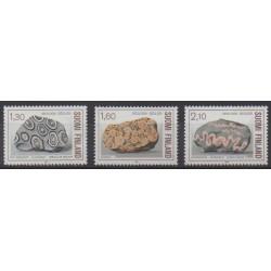 Finland - 1986 - Nb 946/948 - Minerals - Gems