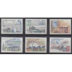 Finland - 1986 - Nb 951/956 - Architecture