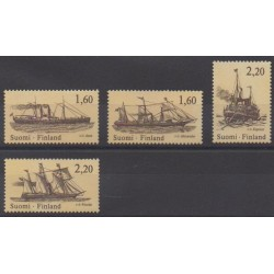 Finlande - 1986 - No 962/965 - Navigation