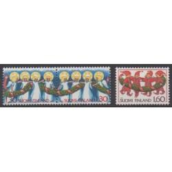 Finlande - 1986 - No 969/971 - Noël