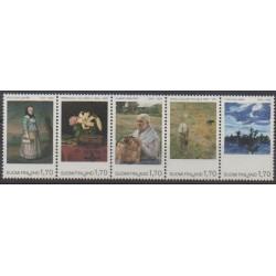 Finland - 1987 - Nb 987/991 - Paintings