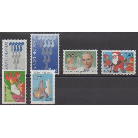 Finland - 1987 - Nb 993/998