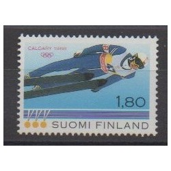 Finland - 1988 - Nb 1013 - Winter Olympics