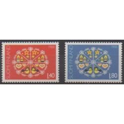Finland - 1988 - Nb 1030/1031 - Christmas
