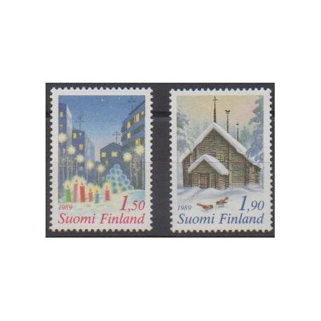Finland - 1989 - Nb 1062/1063 - Christmas