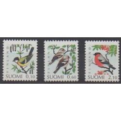 Finland - 1991 - Nb 1100/1102 - Birds