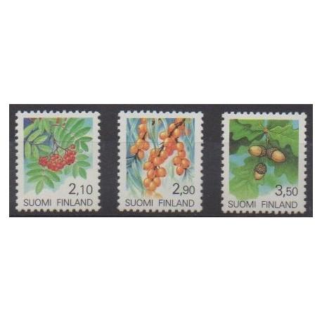Finland - 1991 - Nb 1092/1094 - Fruits or vegetables