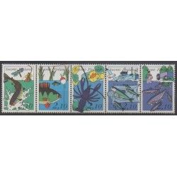 Finland - 1991 - Nb 1103/1107 - Sea life