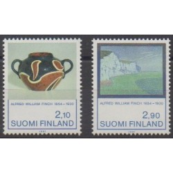 Finland - 1991 - Nb 1112/1113 - Paintings