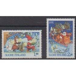 Finland - 1991 - Nb 1123/1124 - Christmas