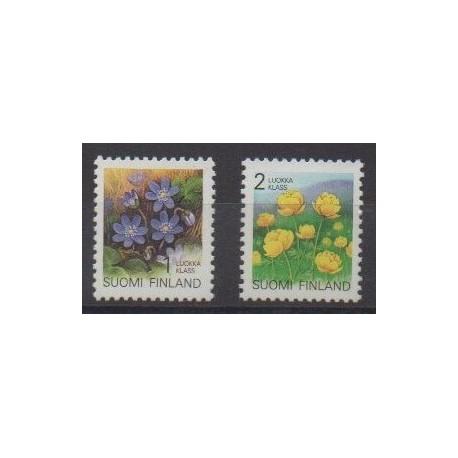 Finland - 1992 - Nb 1129/1130 - Flowers