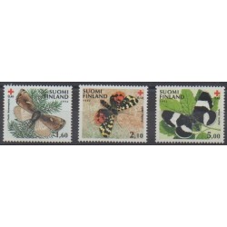 Finland - 1992 - Nb 1138/1140 - Health - Insects