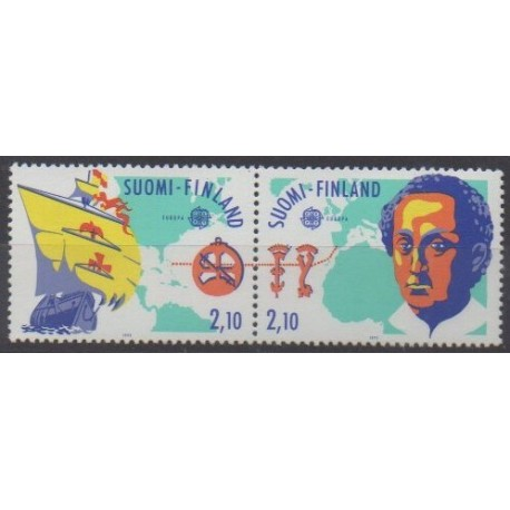 Finland - 1992 - Nb 1142A - Christophe Colomb - Europa