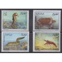 Algeria - 1992 - Nb 1029/1032 - Animals