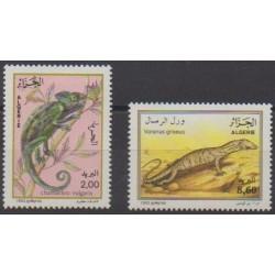 Algeria - 1993 - Nb 1052/1053 - Reptils