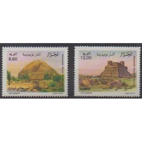 Algeria - 1993 - Nb 1047/1048 - Monuments
