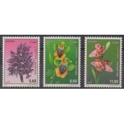 Algeria - 1994 - Nb 1059/1061 - Orchids