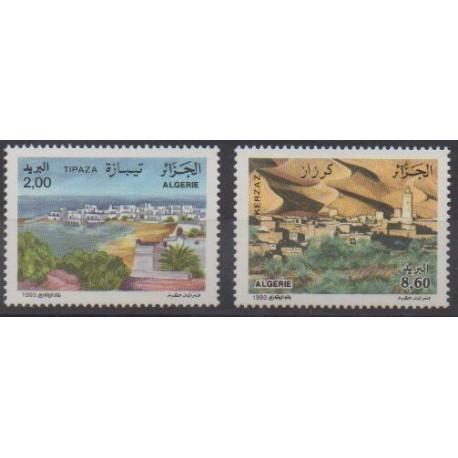 Algeria - 1993 - Nb 1054/1055 - Tourism