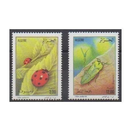 Algeria - 1994 - Nb 1067/1068 - Insects